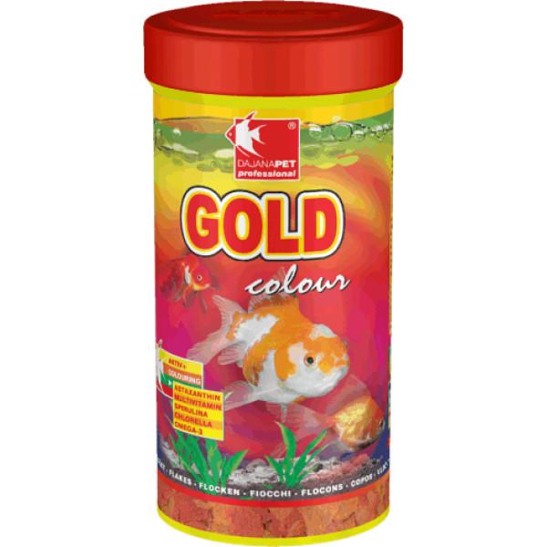GOLD COLOUR FLAKES 250ml