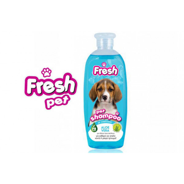 FRESH PET SHAMPOO ALOE VERA 400ml